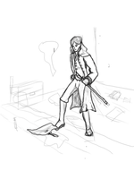 Reddit Character Art Request: Elf detective by McMuffinKing