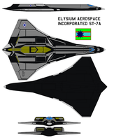 Elysium Aerospace Incorporated ST-7A Mercury by bagera3005