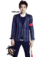 Chanyeol PNG Render #3 by fainleo