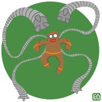 December 15th. Doctor Octopus by EO88