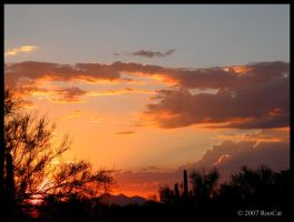 Just Another Monsoon Sunset by RooCat