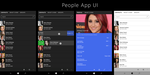 Lumia - People App conceptual UI by dronzer92