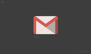 Gmail Icon Made with Sketch by r2ds