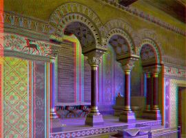 Singer's Hall :: ANAGLYPH 3D by zour