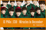 [PNG] EXO Miracles in December by sarielk