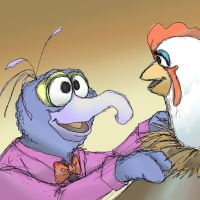 Gonzo and Camilla by ArtisteFish