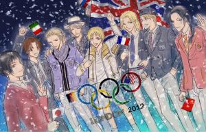 APH: 2012 Olympic Ceremony by CherryProject