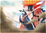Bleach 675 - Blood For My Bone [Coloring] by II-Trinuma-II