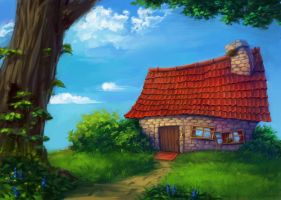 Home sweet home by Shimanai