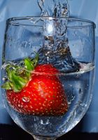 Strawberry Splash by jeremyfe