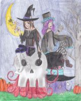 Happy late Halloween 2010 by MasterGDMFTobi