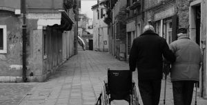 A pair of old men, Venice by Otaka-Ayano