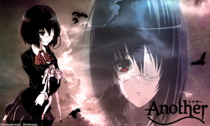 Wallapaper Another Misaki Anime by cuentajaponesa