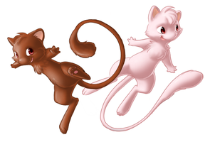 Mew, Chocolate Mew by Mewitti
