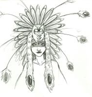 Head dress by TheLinkMaster