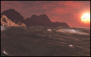 Red Sky at Night by jbjdesigns