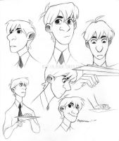 Fanart - Paperman by Aluhnim