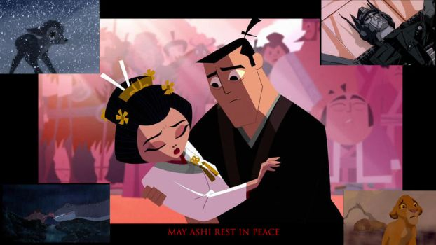 R.I.P., Ashi (plus four famous tearjerker deaths) by timbox129