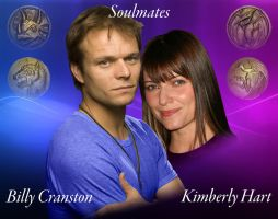 MMPR - Billy and Kimberly Wallpaper by BlueWolfRanger95