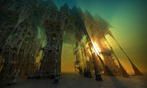 Cathedral of encapsulated twilights by MANDELWERK