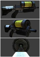My first 3D rifle by soongpa