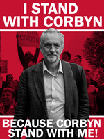 I Stand with Corbyn by Party9999999