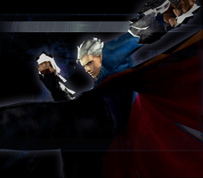 Devil May Cry 3 SE - Beowulf Vergil Clear 4 by Elvin-Jomar