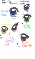 Eye practice by RiddleMaker