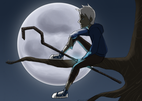 Hanging out - Jack Frost by Shoyzz