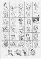 Heads 69-102 by one-thousand-heads