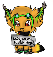 PC: welcome to my page banner by Squishy-Squash-Squid