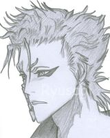 07. Grimmjow Sketch by Ryusagi