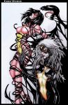 Spiderwoman Symbiote - Coloured by Edge-Works
