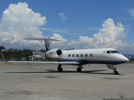 Plane 20140501 _ private jet by K4nK4n