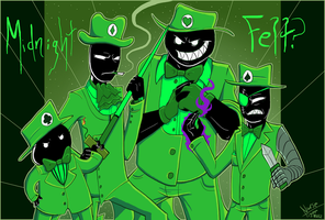 :: Homestuck Intermission: Midnight Felt? :: by NurseTiger