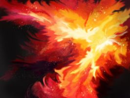 The Phoenix Nebula by Trish2
