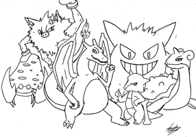 Charizard Team by PandaIsHungry13