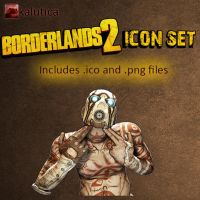 Borderlands 2 Icon by Kalutica