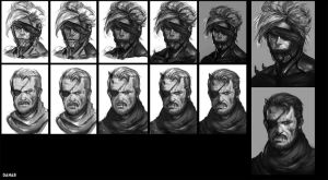 Process Metal gear by DanarArt
