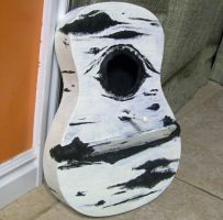 Guitar Birdhouse Finished by Autnott