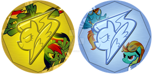 Pony Medals by Eniacc