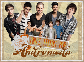 The Wanted PNG's by AndromedaRiddleBlack