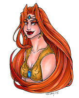 Princess Nikatonia for Celamowari by nickyflamingo