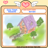 Chibi Town: Bon Bon and Pam Pam's House by Nara-Usagi