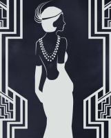 1920's Woman by Delaney-M