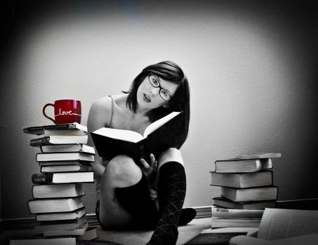 LOVE reading by skipabeatphotography