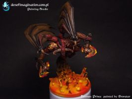Daemon Prince of Khorne by Brovatar