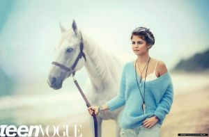 PACK photoshoot Selena gomez Teen Vogue by lha-constanza