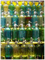 Viejas botellas by tomegatherion