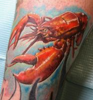 Lobster Tattoo by catbones